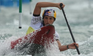 Canoeist Jess Fox
