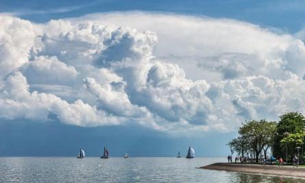 Curonian Lagoon, Nida.