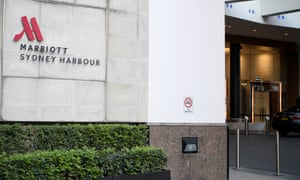 The Marriott hotel in Sydney