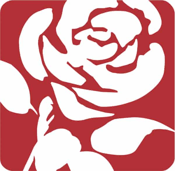 The Labour Party logo.