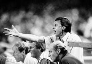 Ajax manager Johan Cruyff