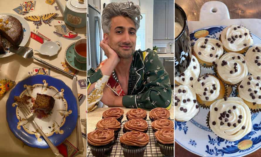 Lockdown cooking: cakes by Hamish Bowles, Tan France and Bella Hadid