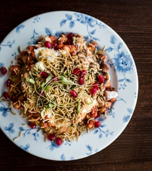 Romy's Kitchen's samosa chaat: 'much mooned after'.