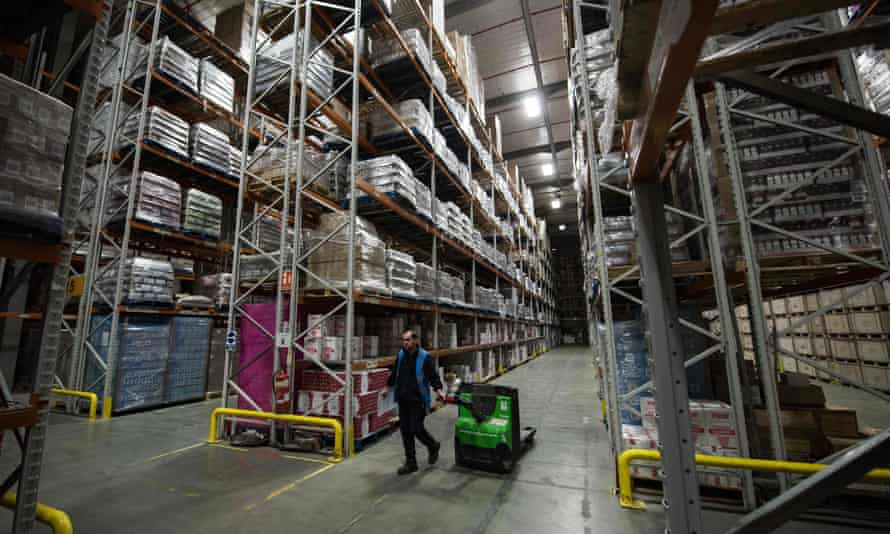 A site near Rugby, England, offering firms warehousing facilities
