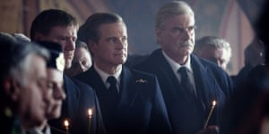 Colin Firth in Kursk.