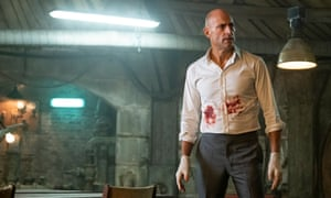 The gloves are on: Mark Strong in Temple.