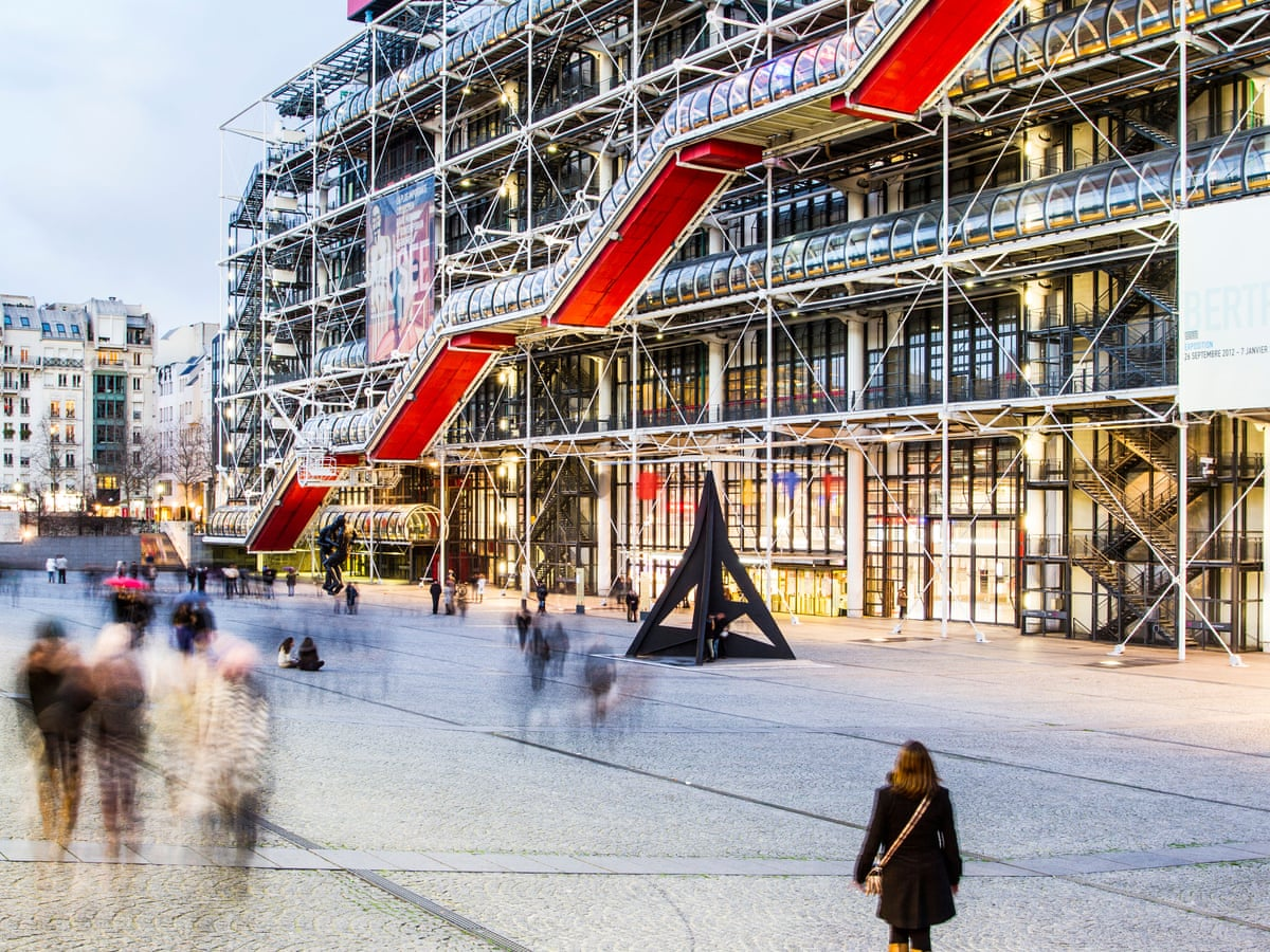 Pompidou Centre A 70s French Radical That S Never Gone Out Of Fashion Art And Design The Guardian