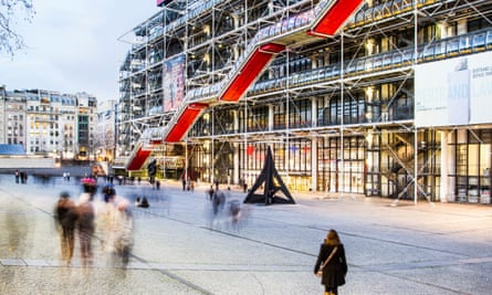 'It wasn't supposed to be a monument but an event': the Pompidou Centre in Paris.