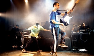 Asian Dub Foundation on stage in 1998