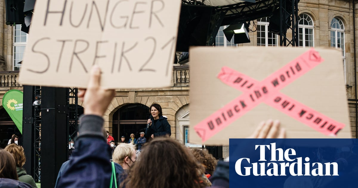 The German activists starving themselves to make politicians face the climate crisis