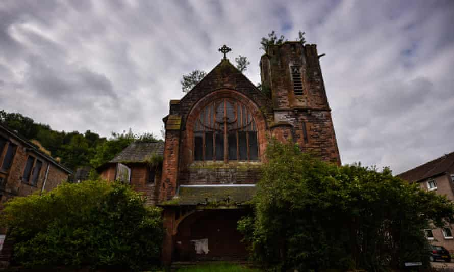A disused church in Port Glasgow