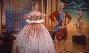 Deborah Kerr and Yul Brynner in The King And I, 1956.