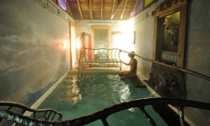 The Hot Pool at Harbin Hot Springs is famously clothing optional.
