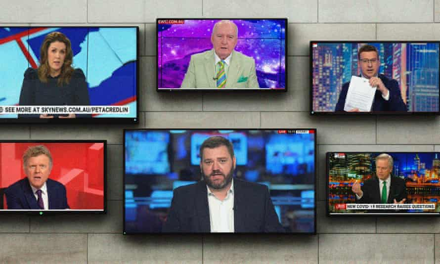 Internal data shows Sky News Australia got an average of 5.2m views of videos on its website each month between October 2020 and February this year