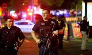 A Facebook video of the Dallas shootout, in which five police officers died, was viewed millions of times within hours.