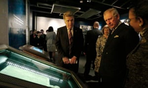 Prince Charles viewed an original 1297 Magna Carta as he visited the National Archives in Washington last week.