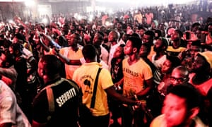 The booming music scene in Lagos could be a draw for tourism – an unimaginable idea 20 years ago.