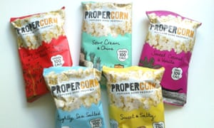 Propercorn is now part of Boots and Tesco meal deals.