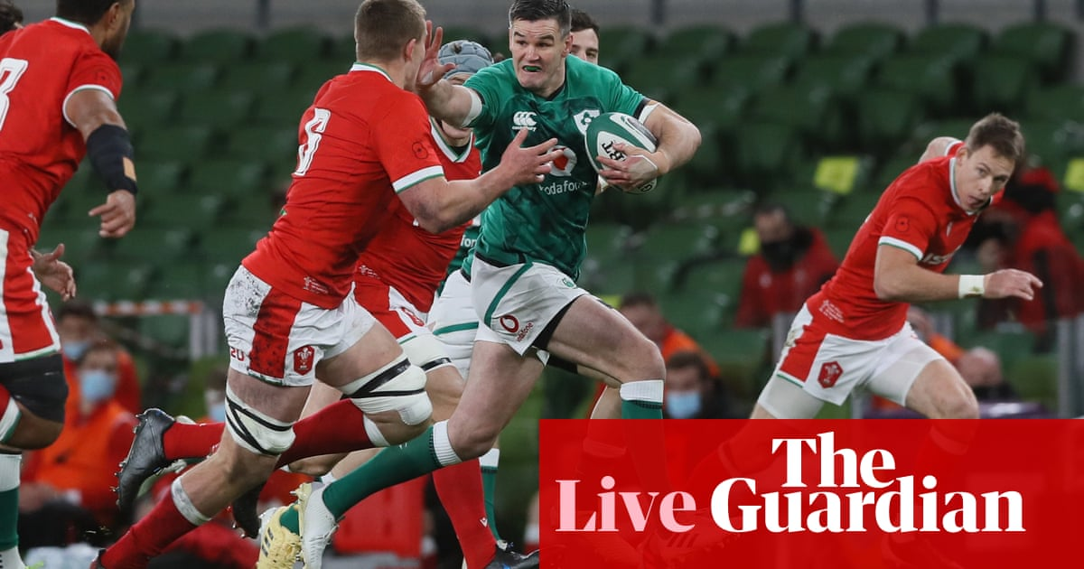 Ireland v Wales: Autumn Nations Cup – live!