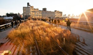The High Line in Manhattan, New York City.