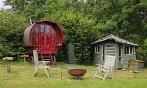 Hideaway Camping, near Okehampton, Devon