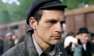 Geza Rohrig as Saul, a Hungarian-Jewish prisoner forced to work in the gas chambers.