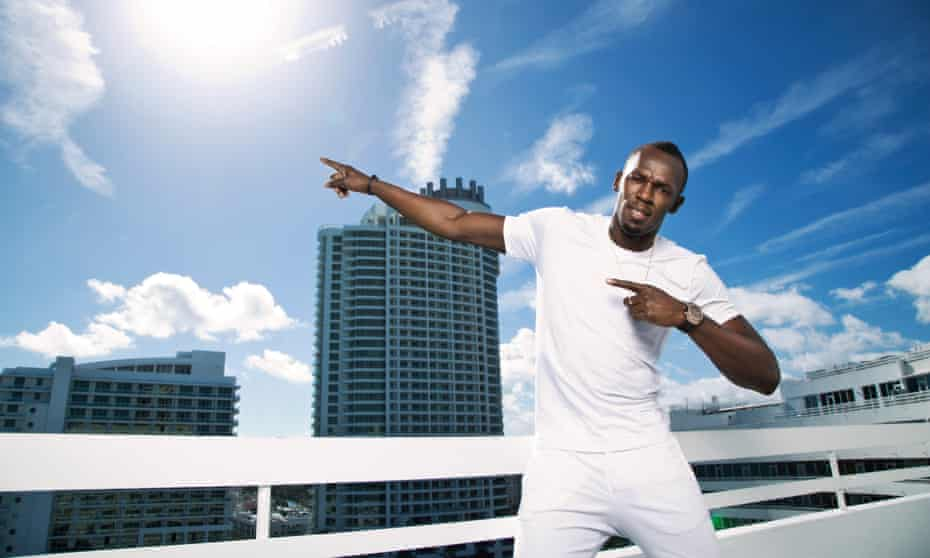 Usain Bolt: he's still the fastest man in the world, but can he cut it on the reggae scene?