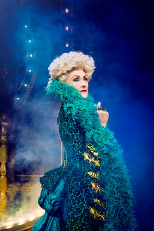 Anita Dobson joined the 10th anniversary cast to play Madame Morrible