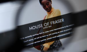 New' House of Fraser brings new problems for customers