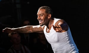 Richard Blackwood starred in the stage production of Typical and reprises the role for the film.