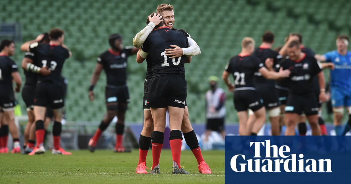 Alex Goode shines as Saracens resist Leinster to pull off major upset