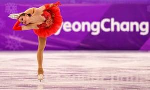 PyeongChang 2018 Winter Olympic Games, Figure Skating, South Korea - 23 Feb 2018NO USA SALES Mandatory Credit: Photo by Bob Martin/SilverHub/REX/Shutterstock (9435608aq) Alina Zagitova Olympic Athlete from Russia (OAR) performs in the Ladies Single Skating Free Skating PyeongChang 2018 Winter Olympic Games, Figure Skating, South Korea - 23 Feb 2018