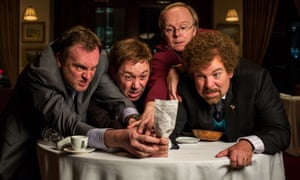 Philip Glenister, Reece Shearsmith, Jason Watkins and Steve Pemberton in Inside No 9