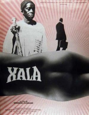 Xala poster, film by Ousmane Sembène