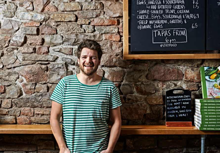 Tom Hunt in his restaurant, Poco.