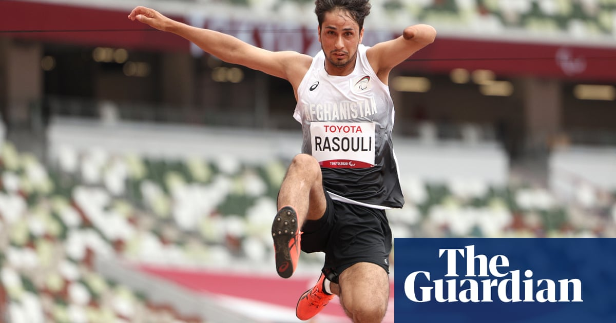 Afghan athlete evacuated from Kabul belatedly competes at Paralympics