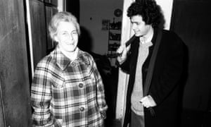Ultimate betrayal: the author with his mother in their old apartment in Budapest, in 1975. In 1976, they travelled to Israel – her first job at the foreign agency branch of the communist secret service, then called III/I.