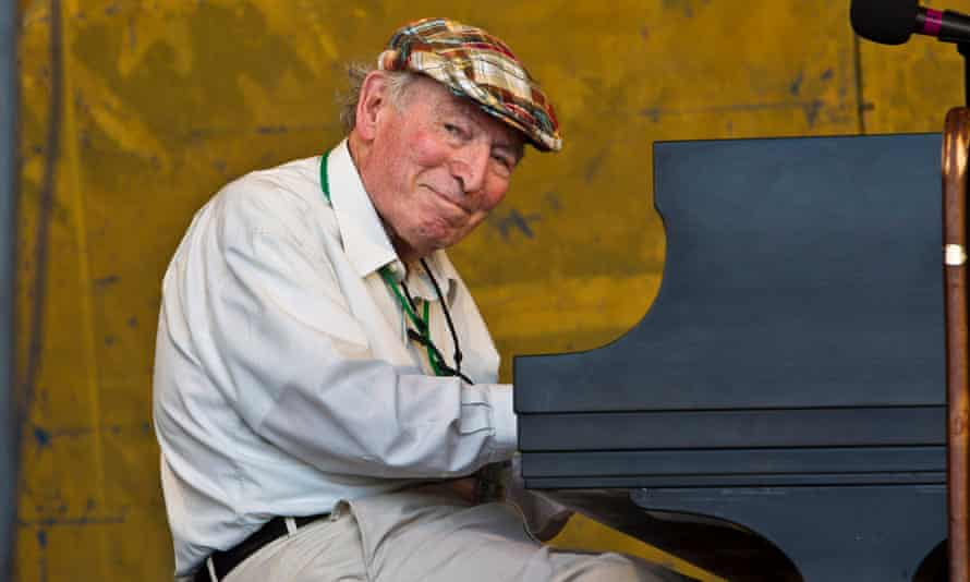 George Wein at the New Orleans jazz and heritage festival in 2012.