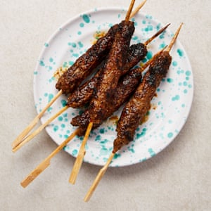 Yotam Ottolenghi's lamb and beef kebabs.