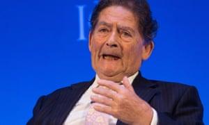 Nigel Lawson of the Global Warming Policy Foundation.