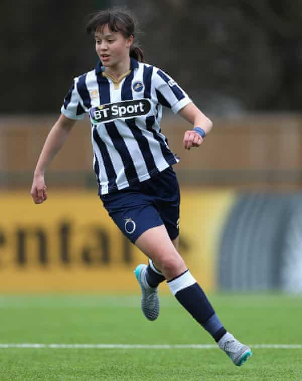 Millwall Lionesses' Leanne Cowan.