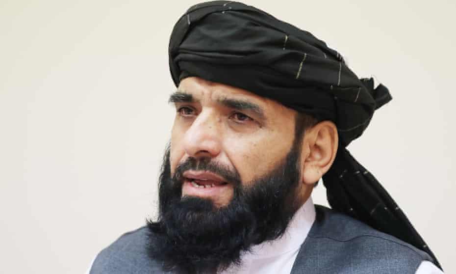 Taliban spokesperson Suhail Shaheen