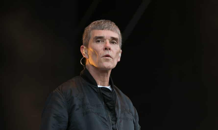 'I refuse to accept vaccination proof as condition of entry' … Ian Brown performing with the Stone Roses in Dublin in 2016.