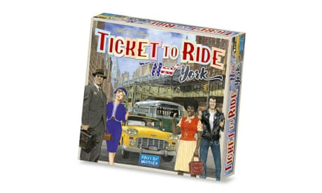 Board games: Ticket to Ride New York and Decrypto