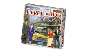 Ticket to Ride: New York is the latest edition of the family-favourite travel game.