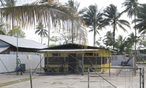 The Lorengau prison on Manus Island, where Joshua Kaluvia and Louie Efi are being held while they await trial for the murder Reza Barati.