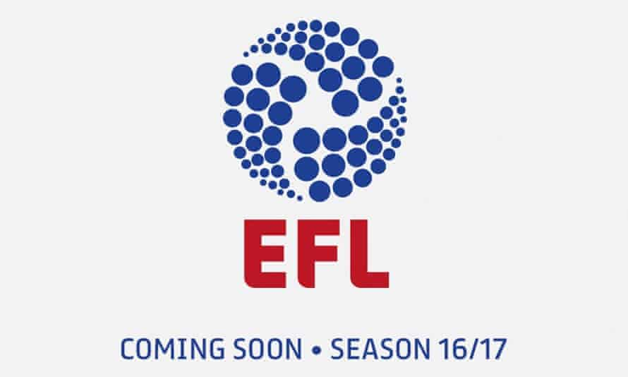 The new logo for the rebranded Football League.