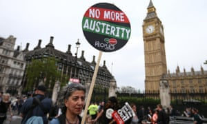 People's Assembly anti-austerity protest in London, May 2015