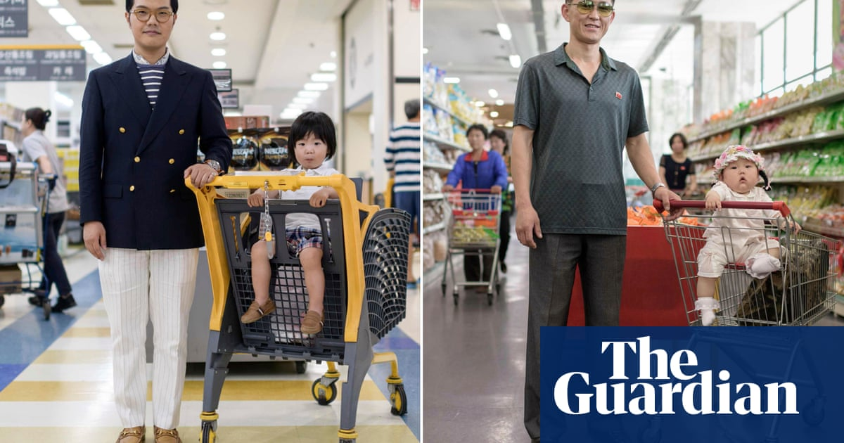 Parallel lives: matching portraits from South and North Korea – in pictures