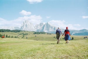 Alpe di Siusi, 1979, from the series Topographie-Iconographie (Topography-Iconography)In this series, Ghirri focused on the idea of photography as a language that could interpret the symbolic value of places